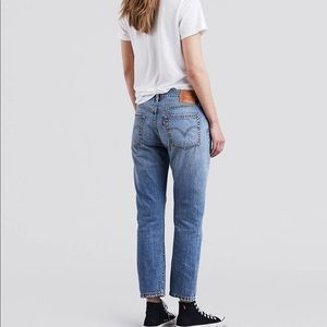 LEVI'S 501 Button Fly Straight Leg Jeans Re/Done